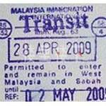 【马来西亚落地签】中国公民大马过境免签政策-Transit Pass