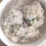 【资深燕窝吃货】青菜香菇燕窝猪肉丸