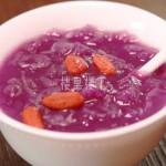 【燕窝梦幻食谱】极具美感的紫薯枸杞燕窝羹