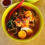 在马来西亚吉隆坡的地界上也能吃到一碗热气腾腾的美味槟城虾面