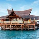 马来西亚潜水天堂有一个地方名字叫做马布岛水上木屋